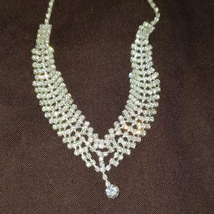 Jewelry - CZ V Neck necklace